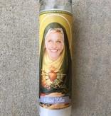 Mose Mary & Me Ellen DeGeneres Saint Candle
