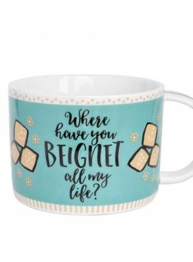 Where Have You Beignet Mug