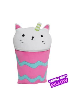 Mini Purrfect Latte Strawberry Scented Pillow