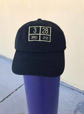 Black & Gold 3/28 Hat