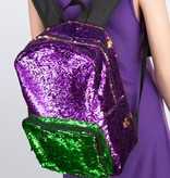 Mardi Gras Magic Sequin Backpack