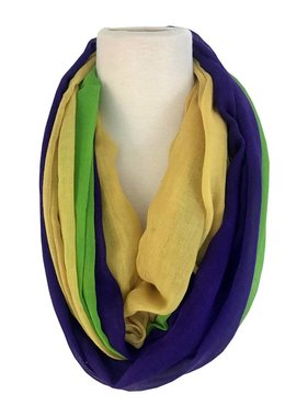 Mardi Gras Big Band Scarf