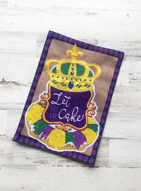 Let Them Eat Cake Garden Flag