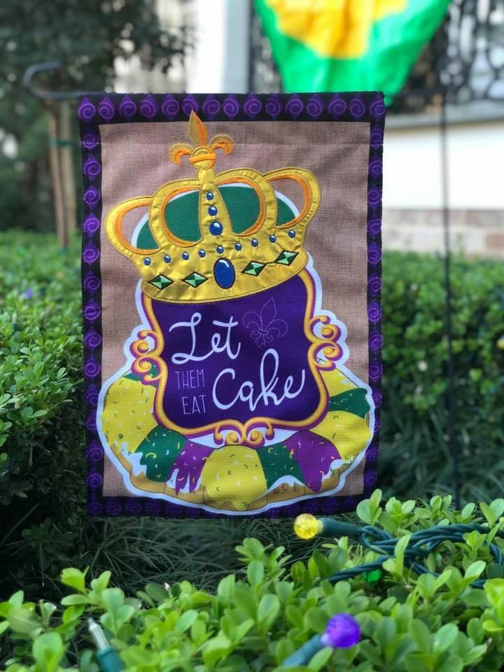 Let Them Eat Cake Garden Flag