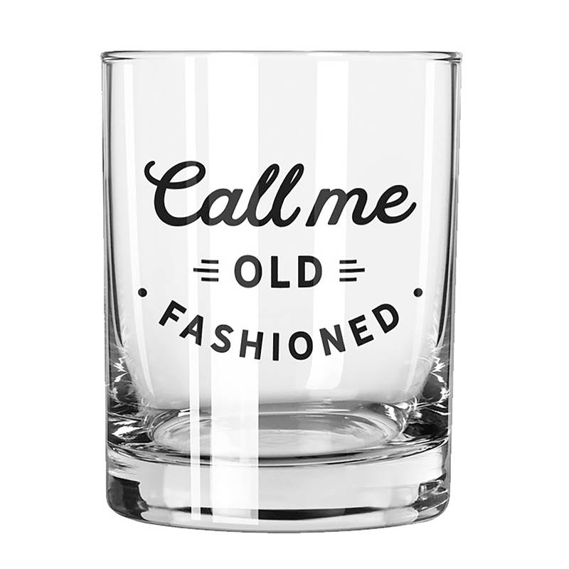 Call Me Old Fashioned Glass Fleurty Girl