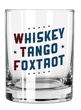 Whiskey Tango Foxtrot Glass
