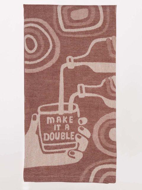 Blue Q Make It a Double Towel