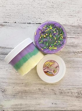 Mardi Gras Three Layer Slime