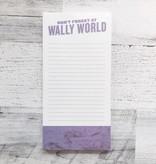 Don't Forget At Wally World Notepad