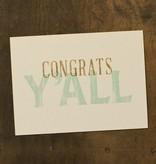 Congrats Y'all Card