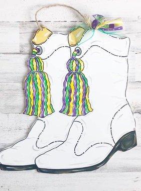 Parade Boots Door Hanger