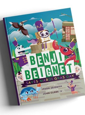 Benji Beignet Saves Mardi Gras Book