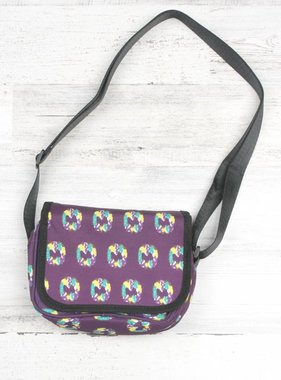King Cake Mini Messenger Bag