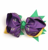 King Cake Bow Purple