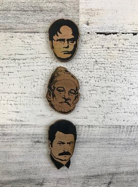 Wood Magnet, Actors
