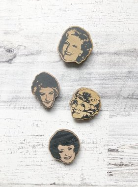 Wood Magnet, Golden Girls
