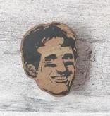 Drew Brees Wood Magnet