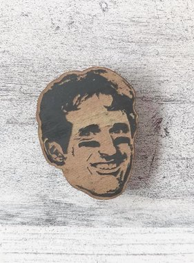 Drew Brees Wood Magnet