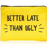 Yellow Better Late Pouch