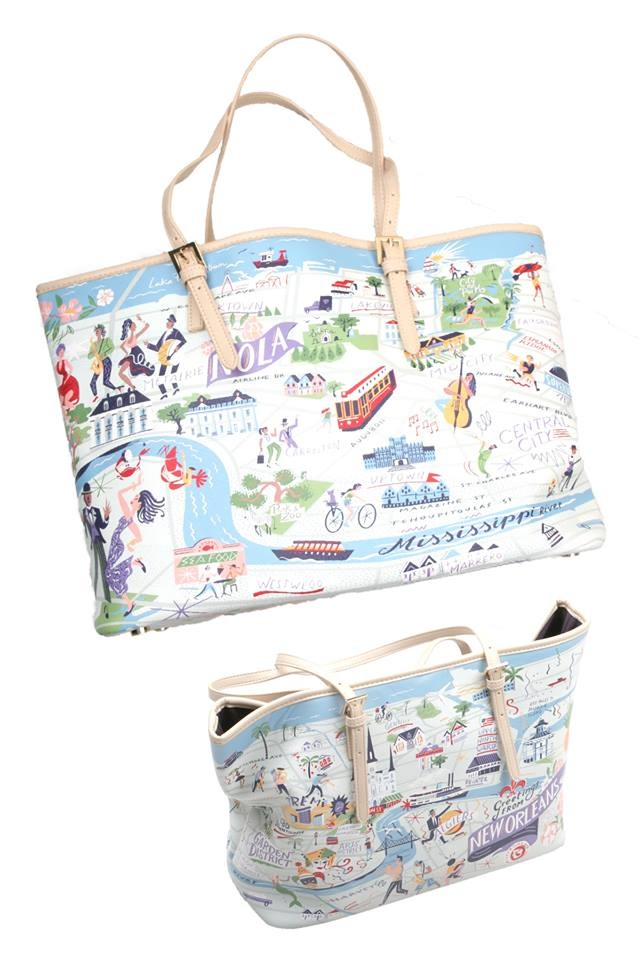 New Orleans Scape Tote