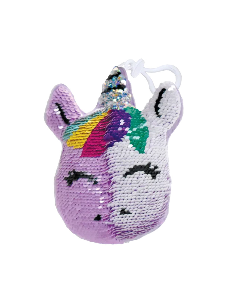 Unicorn Reversible Sequin Clip