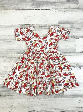 Crawfish Boil Dress for Kids