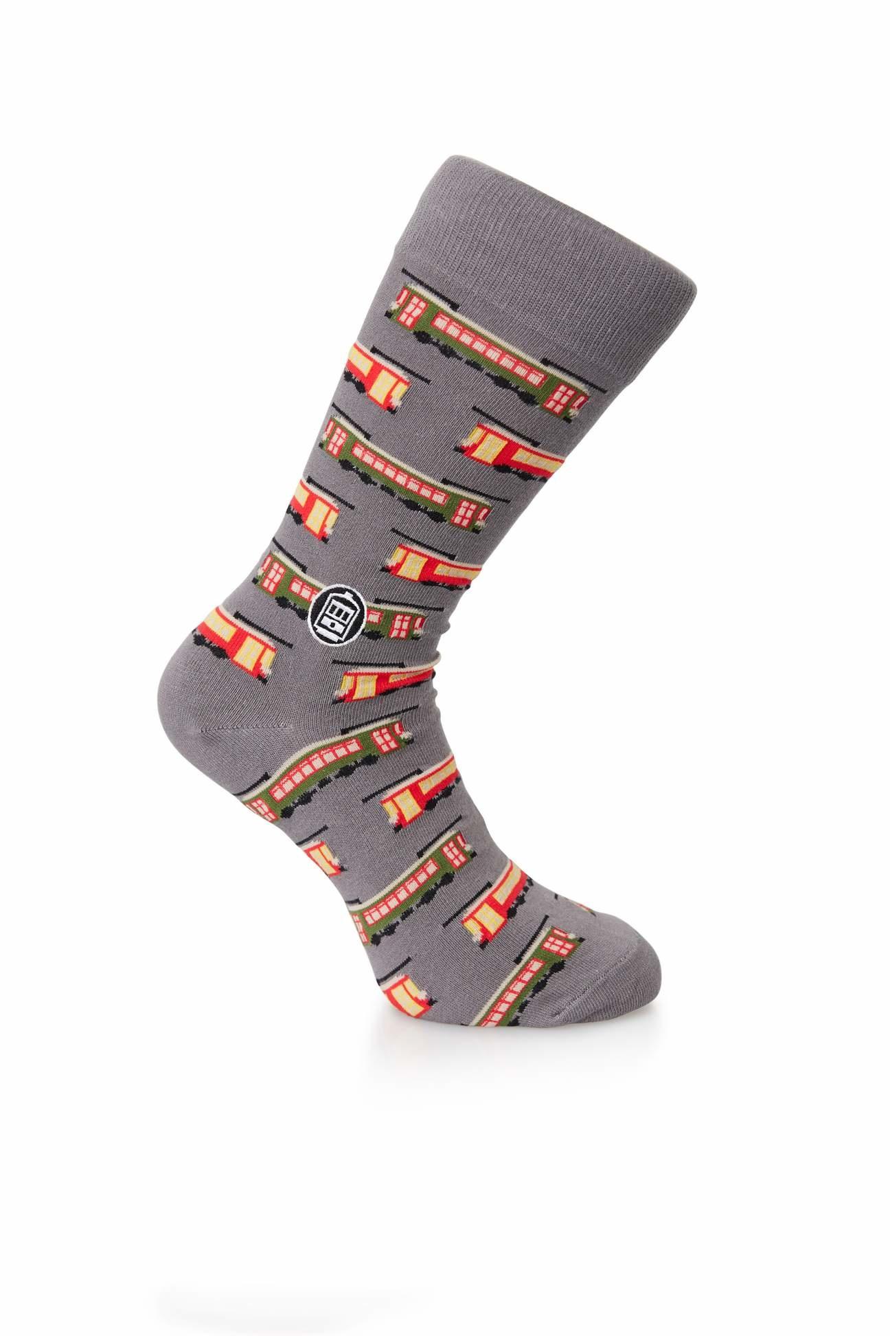 Bonfolk Streetcar Socks