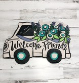 Door Hanger, Happy Summer / Welcome Friends