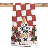 New Orleans Calories Towel