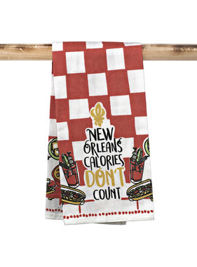 New Orleans Calories Towel