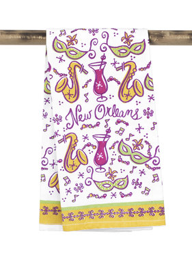 New Orleans Icons Towel