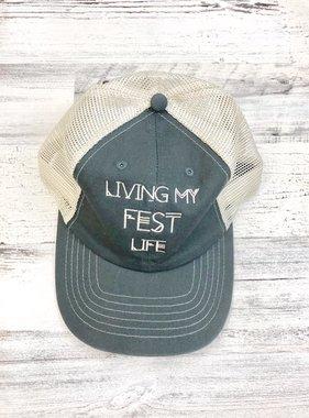Living My Fest Life Trucker Cap
