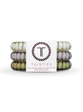 Teleties 3 Pack Small, Paris Rain
