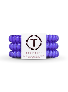 Teleties 3 Pack Small, Periwinkle