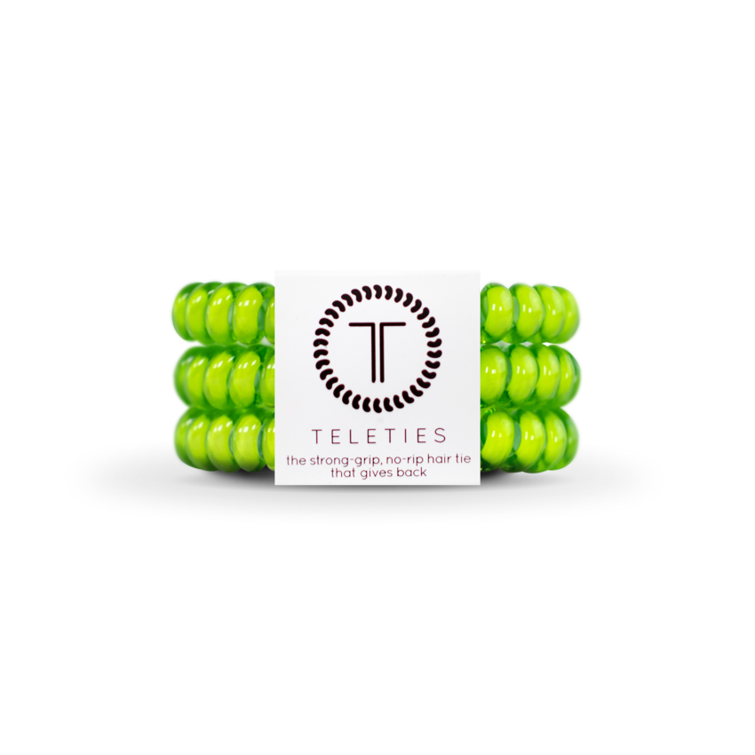 Teleties 3 Pack Small, Lime