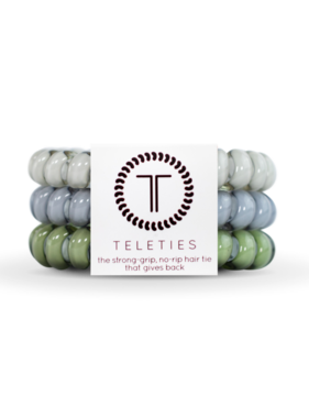 Teleties 3 Pack Large, Paris Rain