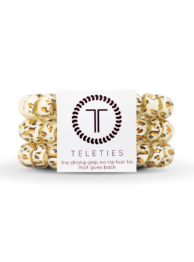 Teleties 3 Pack Large, Leopard