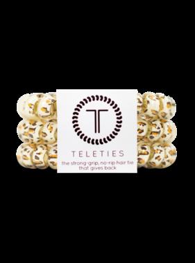 Teleties 3 Pack Large, Leopard