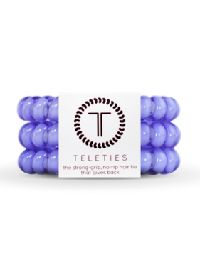 Teleties 3 Pack Large, Periwinkle