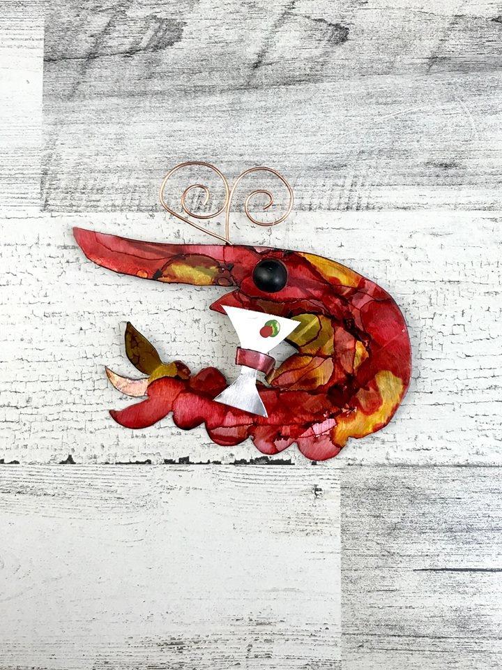 Shrimp Cocktail Ornament