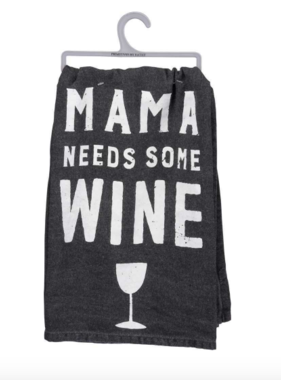 Primitives by Kathy Mama Needs Wine Towel