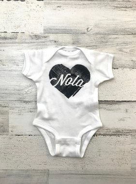 NOLA For Life Onesie
