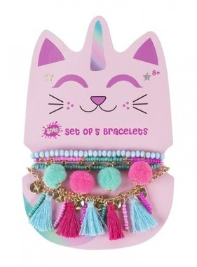 Caticorn Bracelet Set