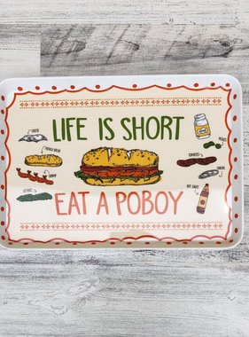 Poboy Snack Tray