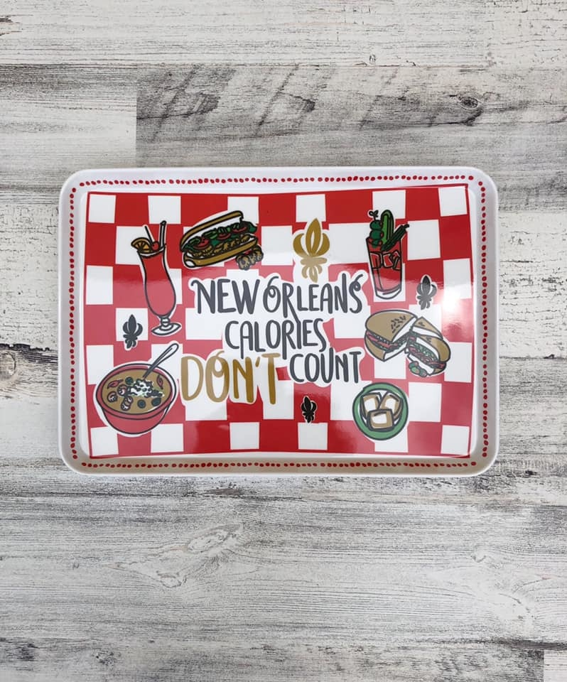 New Orleans Calories Snack Tray