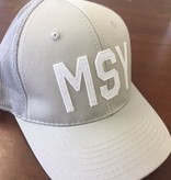 MSY Grey Trucker Cap