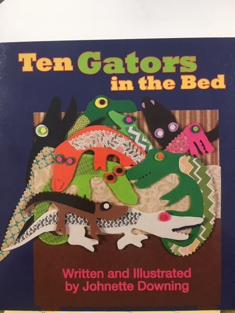 Ten Gators In The Bed