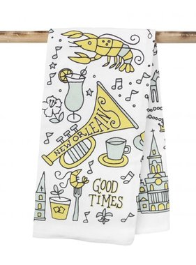 New Orleans Good Times Towel