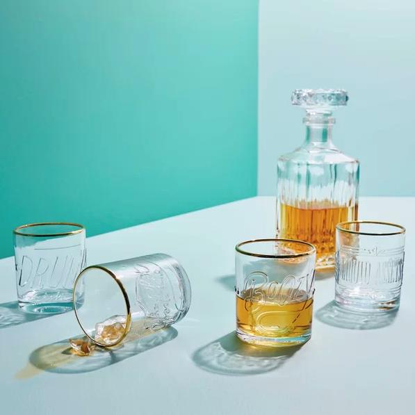 Boozy Lowball Glass