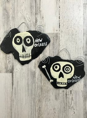 Skull Roof Tile Art